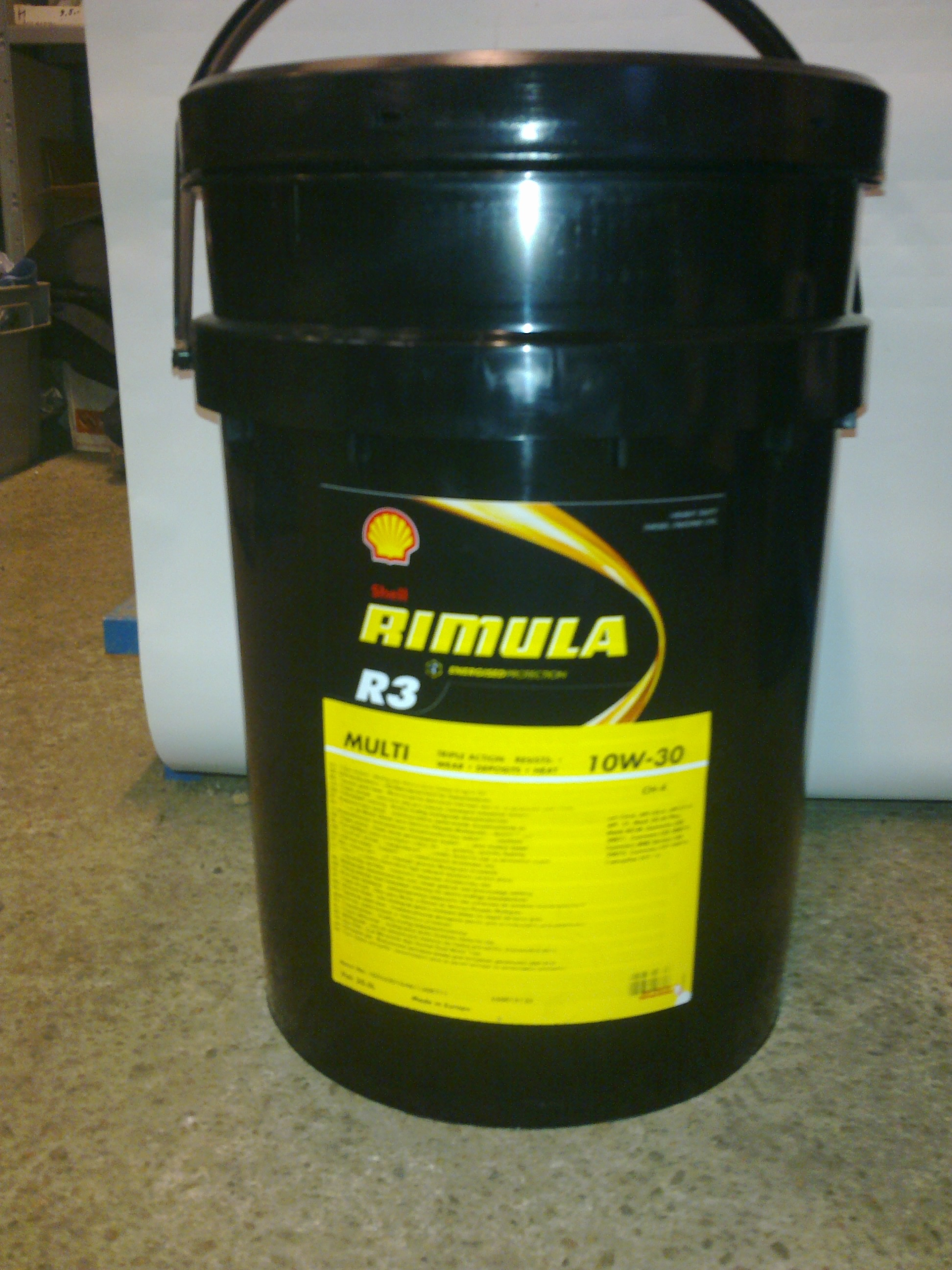 Масло Shell Rimula R4 Multi 10W30